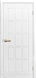 Дверь межкомнатная Сибирь Профиль Трио ПГ белая