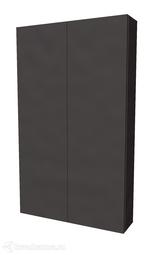 Шкаф 1Marka Gaula 60П 2 двери Black