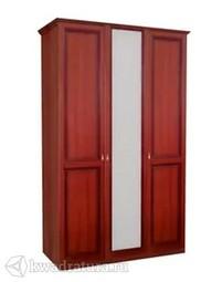 Шкаф трехстворчатый Валенсия с одним зеркалом ЛД