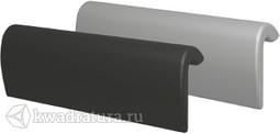 Подголовник RIHO AH07 Sobek черный/серебро