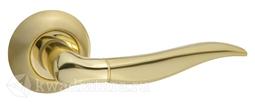 Дверная ручка PUERTO AL 508-08 SB/PB