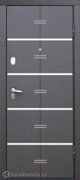 Дверь входная металлическая Феррони Alta Tech Белый ясень