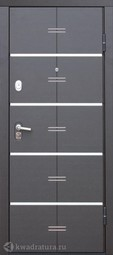 Дверь входная металлическая Феррони Alta Tech Венге