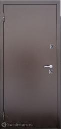 Дверь входная металлическая Алмаз Термо медь-антик/венге Терморазрыв