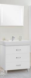 Комплект мебели Aquaton Америна 80М белый