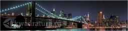 Кухонный фартук пластиковый Бруклинский Мост (2м. / 3м.)