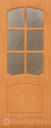 Межкомнатная дверь Дера Азалия ДО миланский орех