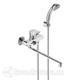 Смеситель для ванны/душа Vidima Некст с керамическим переключателем BA372AA