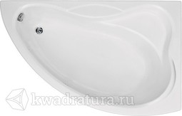 Акриловая ванна Бас Вектра 150*90 БЕЗ ГИДРОМАССАЖА левая/правая