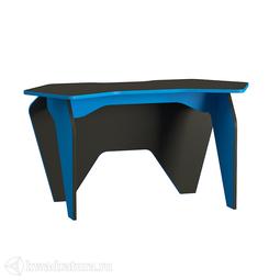 Стол письменный Mobi Базис 2 (чёрный/синий)