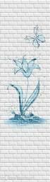 Стеновая панель ПВХ ПанельПласт Бланш Аква