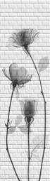 Стеновая панель ПВХ ПанельПласт Бланш Розы