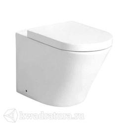 Унитаз приставной GROSSMAN GR-PR3011 Modern сиденье дюропласт, микролифт, 520*390*360, белый