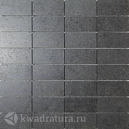 Декор для керамогранита Kerama Marazzi Фьорд черный DP16810 30*30 см