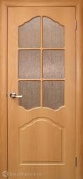 Дверь межкомнатная Дубрава Илона ПО миланский орех