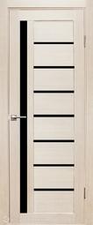 Дверь межкомнатная Дубрава Foret Вертикаль лиственница СТ черное