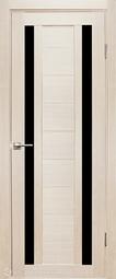 Дверь межкомнатная Дубрава Foret Тандем лиственница СТ черное