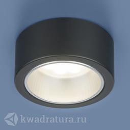 Накладной точечный светильник Elektrostandard 1070 GX53 BK черный