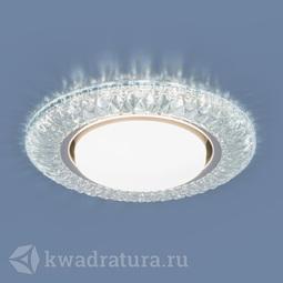 Встраиваемый точечный светильник Elektrostandard 3020 GX53 CL прозрачный LED