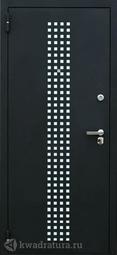 Дверь входная металлическая Зевс Z-5 Италия черный шелк/венге шёлк
