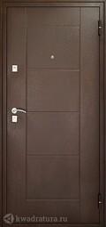 Дверь входная металлическая Форпост 73 Орех