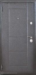 Дверь входная металлическая Форпост Квадро-2 Беленый дуб
