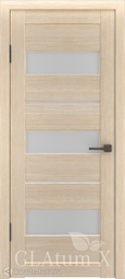 Межкомнатная дверь GreenLine Atum X-23 капучино