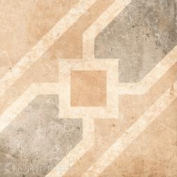 Декор для керамогранита Grasaro Tivoli Серый GT-242/d04 40*40 см