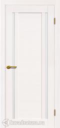 Межкомнатная дверь Матадор X2 белое дерево лайт