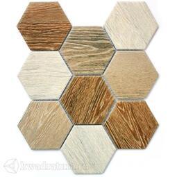 Мозаика Wood comb 25,6*29,5 см