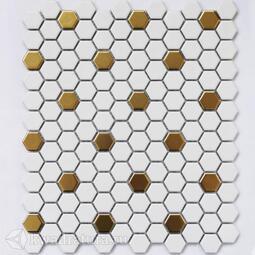 Мозаика Babylon Gold matt 30*26 см