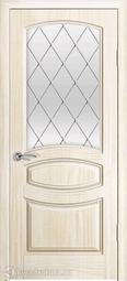 Межкомнатная дверь Океан Изабелла Ясень белый жемчуг с/о белое Ромб