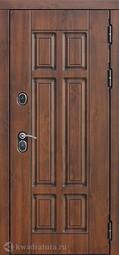 Дверь входная металлическая Феррони Isoterma Грецкий орех Терморазрыв