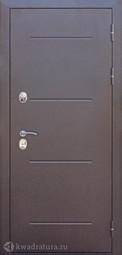Дверь входная металлическая Феррони Isoterma Венге Терморазрыв