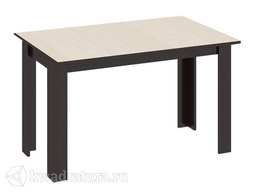 Стол обеденный Кантри Т1 венге/дуб молочный ТР