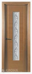 Межкомнатная дверь Крона Карат Дуб СТ