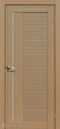 Дверь межкомнатная Сибирь Профиль 201 тиковое дерево