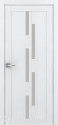 Межкомнатная дверь Дверной вопрос Life ПДО 2198 Велюр Белый