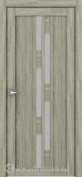 Межкомнатная дверь Дверной вопрос Life ПДО 2198 Велюр Серый