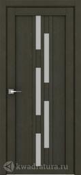 Межкомнатная дверь Дверной вопрос Life ПДО 2198 Велюр Шоко