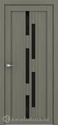 Межкомнатная дверь Дверной вопрос Life ПДО 2198ч Велюр Графит