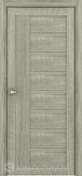 Межкомнатная дверь Дверной вопрос Life ПДО 2110 Велюр Серый