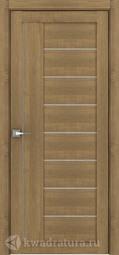 Межкомнатная дверь Дверной вопрос Life ПДО 2110 Вельвет Орех