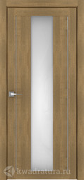 Межкомнатная дверь Дверной вопрос Life ПДО 2191 Вельвет Орех