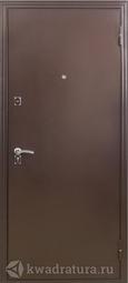 Дверь входная металлическая Меги ДС 180 итальянский орех