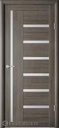 Межкомнатная дверь Фрегат (ALBERO) Мадрид Серый кедр, стекло мателюкс