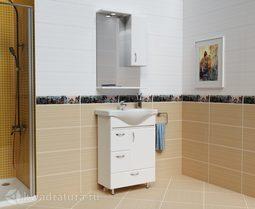 Комплект мебели Milano Мария 60 БЕЛАЯ