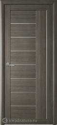 Межкомнатная дверь Фрегат (ALBERO) Марсель серый кедр, стекло мателюкс
