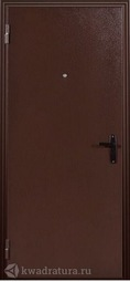 Дверь входная металлическая Меги ДС 110 (миланский орех)