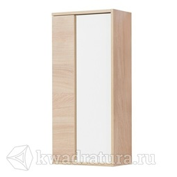 Шкаф подвесной Aquaton Бостон 40 дуб эврика/белый глянец